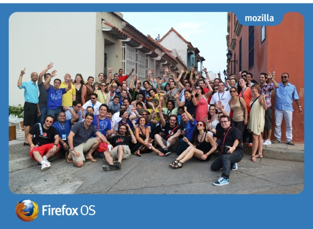 Firefox OS Launch Camp photo